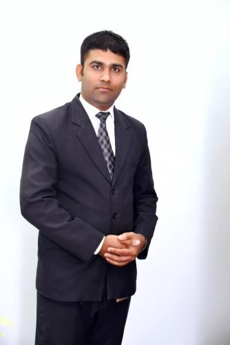 Vipul Baraiya - Front Office Executive-min